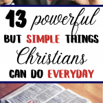 things christians should do everyday