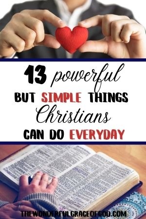 things christians can do everyday