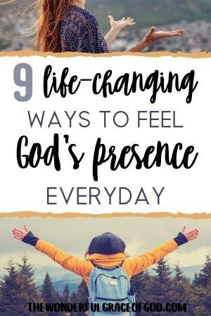 ways to feel gods presence