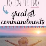 two greatest commandments