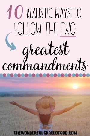 greatest commandments