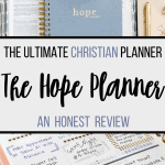 the ultimate christian planner the hope planner review