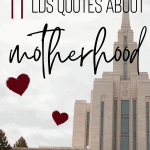 lds quotes about motherhood